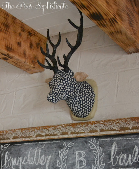 Make a faux deer head!