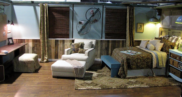 Philadelphia Home Show Upcycled Bedroom