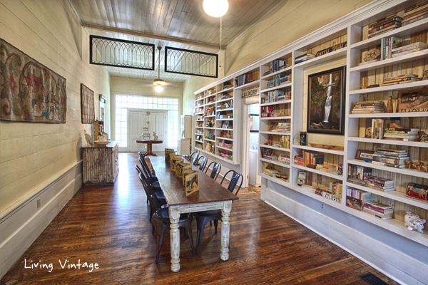 Living Vintage Home Tour - an 1853 dogtrot style home with farmhouse style
