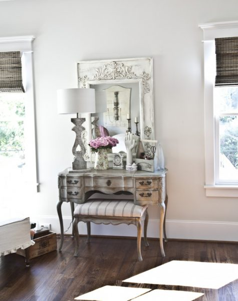 how to make glass look like antique mirror
