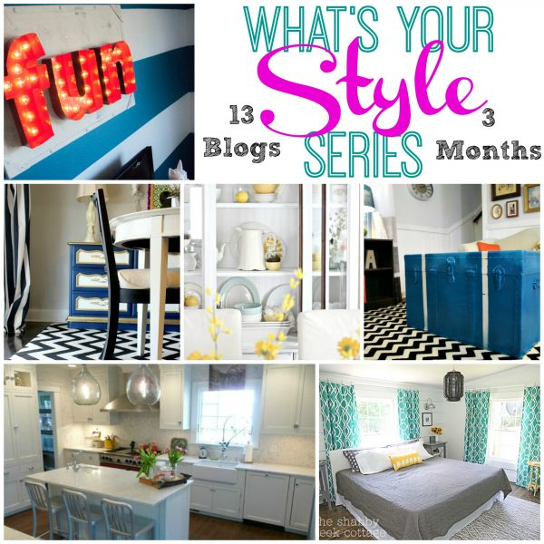 What's your style series - define your style!