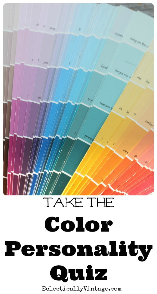 Take the Color Personality Quiz! kellyelko.com