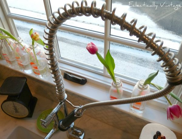 Modern restaurant style faucet eclecticallyvintage.com