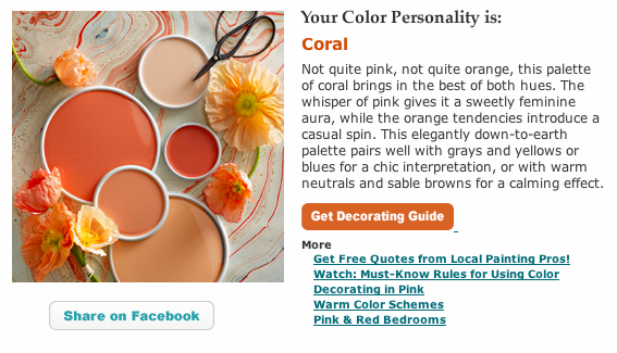 Take the Color Personality Quiz eclecticallyvintage.com