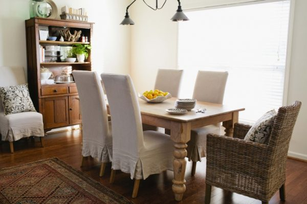 Love the eclectic style of this dining room kellyelko.com