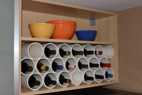 Make your own wine storage rack! eclecticallyvintage.com