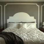 Make a painted headboard eclecticallyvintage.com