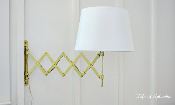 Make this DIY Accordian Light eclecticallyvintage.com