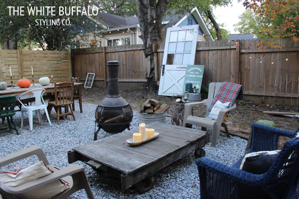 Eclectic patio - love the mix of furniture eclecticallyvintage.com