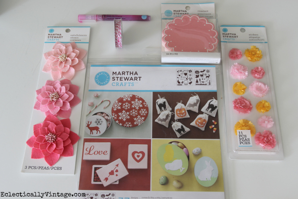 Martha Stewart Craft Supplies eclecticallyvintage.com