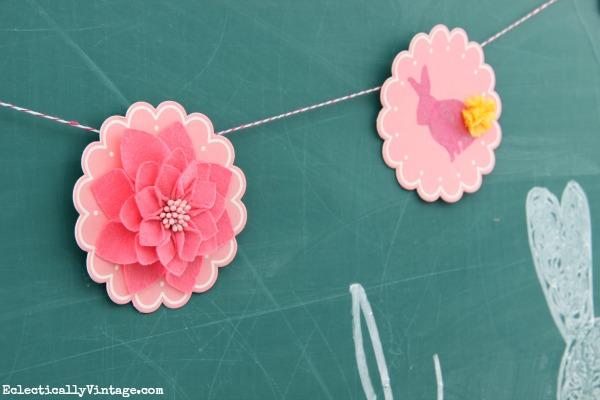 Love this spring banner! eclecticallyvintage.com