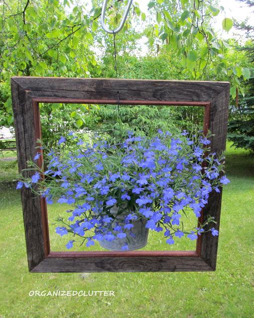 Framed planter kellyelko.com