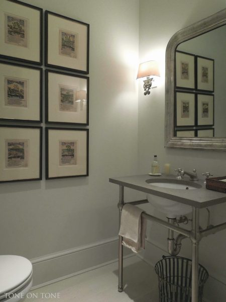 Powder room - love the sink eclecticallyvintage.com