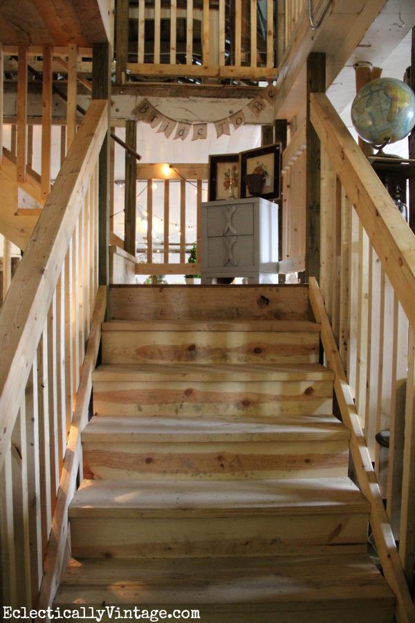Rustic stairs kellyelko.com