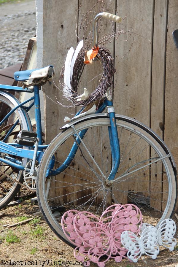 Vintage Schwinn bike eclecticallyvintage.com