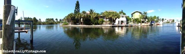 Florida Canal eclecticallyvintage.com