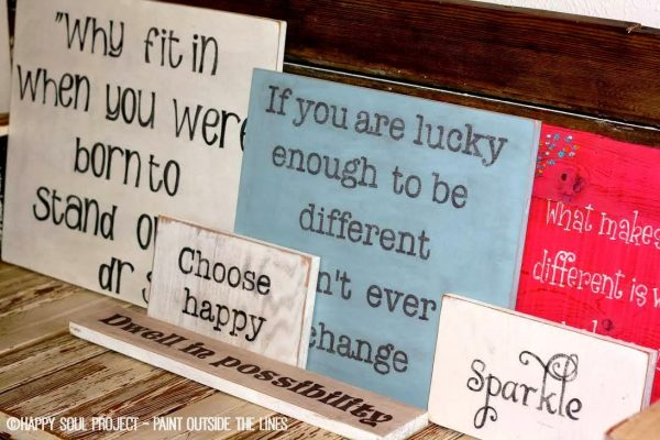 Happy Soul Project - inspirational signs