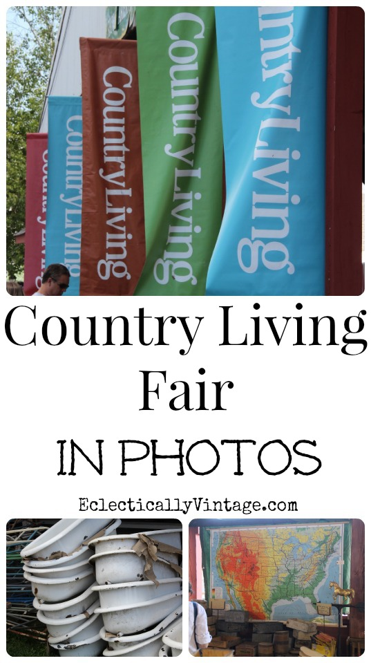 cutouts that is on stage at the country living fair last weekend