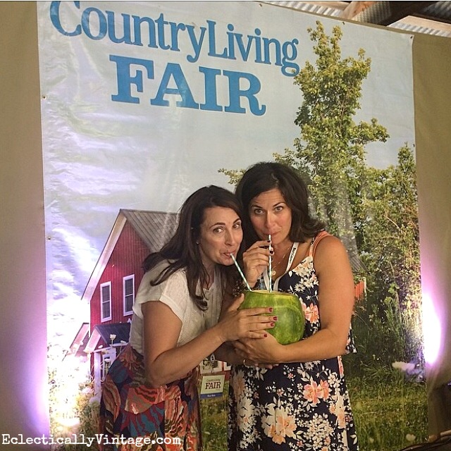 Eclectically Vinage and The Painted Home speak at the Country Living Fair eclecticallyvintage.com