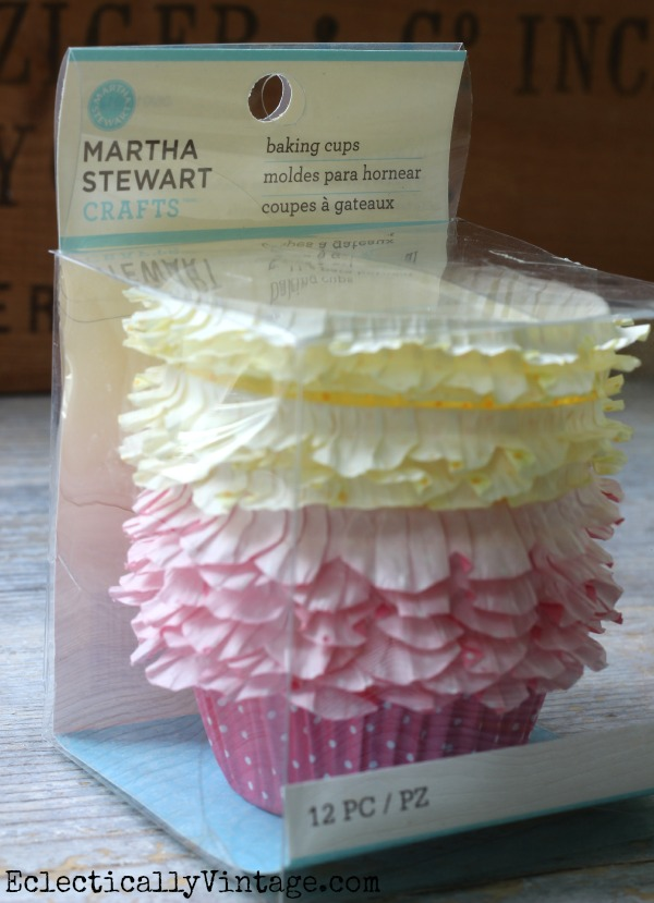 Martha Stewart Baking Cups - love the frills kellyelko.com