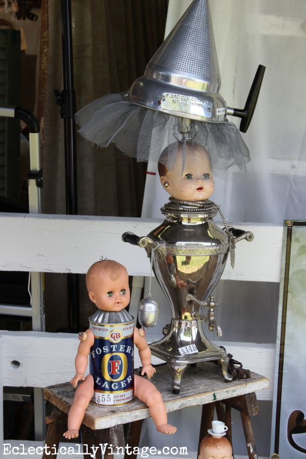Repurposed dolls eclecticallyvintage.com