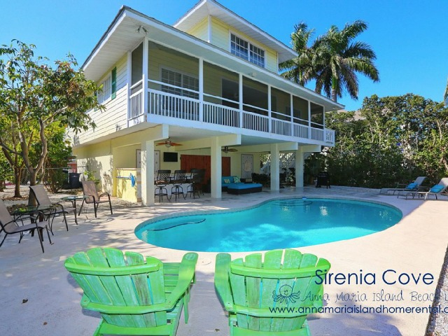 Anna Maria Island Sirenia Cove vacation rental eclecticallyvintage.com