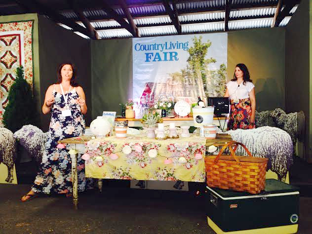 The Painted Home and Eclectically Vintage Presentation CLF 2014