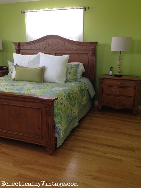 Tropical bedroom kellyelko.com