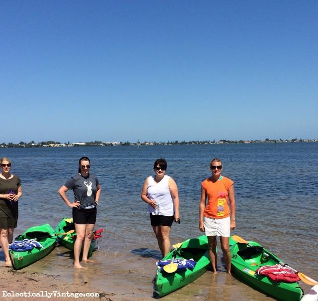 Fun and More Rentals kayak tour kellyelko.com