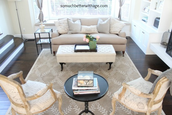 Stunning living room - love the symmetry and neutral furniture eclecticallyvintage.com