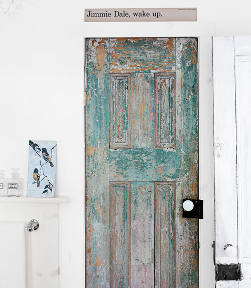 Replace a plain door with a stunning antique door eclecticallyvintage.com