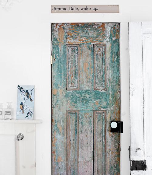 Replace a plain door with a stunning antique door kellyelko.com