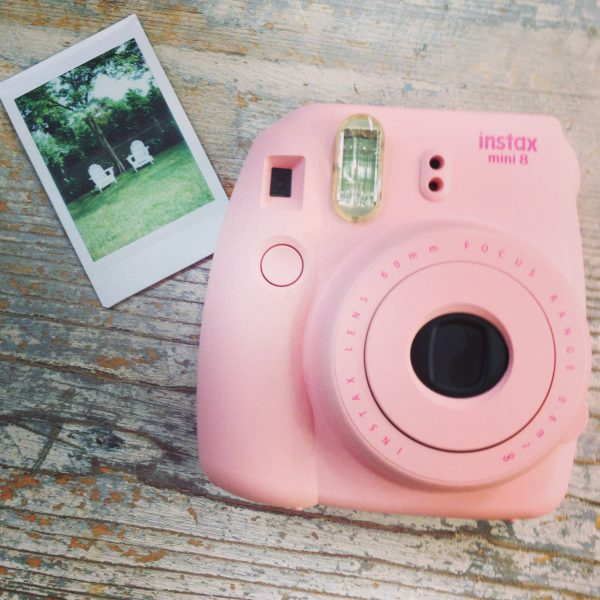 Cool camera - instantly prints retro style polaroid film!  kellyelko.com