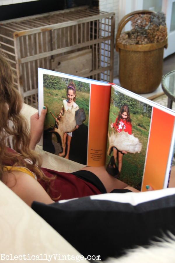Make a photo book with your family memories kellyelko.com