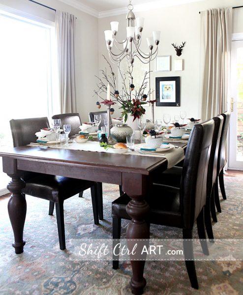 Beautiful dining room kellyelko.com