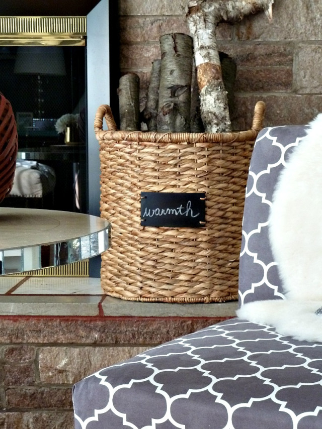 Cute way to display firewood kellyelko.com
