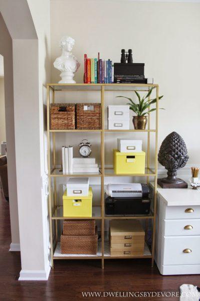 Ikea hack shelves kellyelko.com