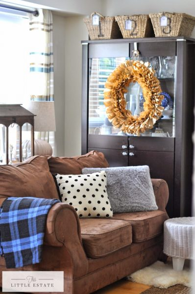 Love the earth tones in this family room kellyelko.com