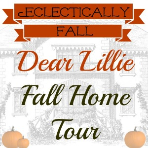 Dear Lillie Eclectically Fall Home Tour - one of 15 fabulous fall home tours eclecticallyvintage.com