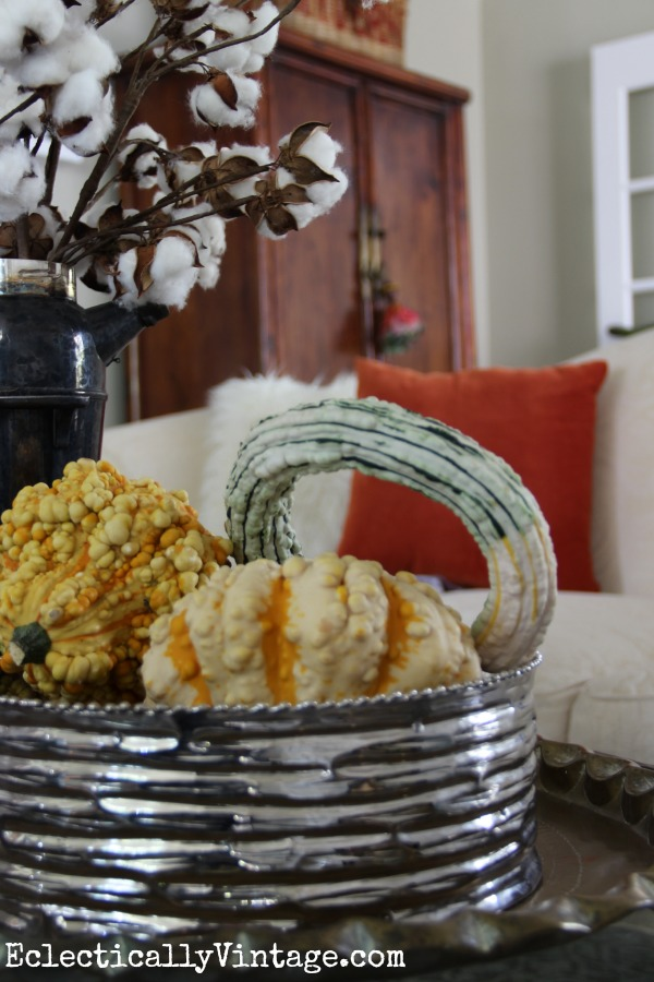 Beautiful fall decorating ideas and home tour kellyelko.com