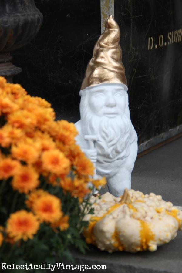 Cute little gilded gnome kellyelko.com