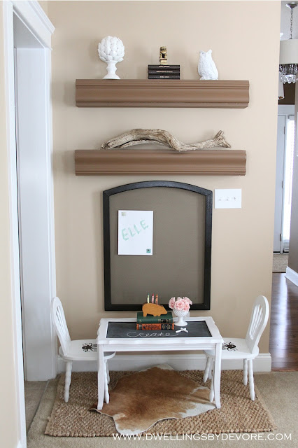 How cute is this mini cowhide rug for the kids! kellyelko.com