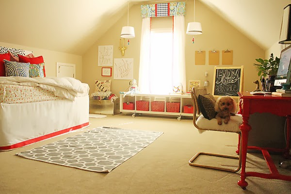 Fun multi purpose guest room and play room kellyelko.com