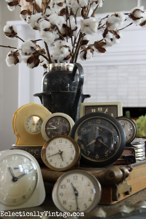 Vintage clock collection kellyelko.com