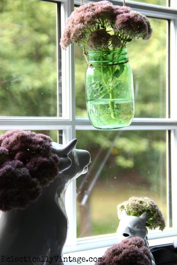 green-mason-jar-craft