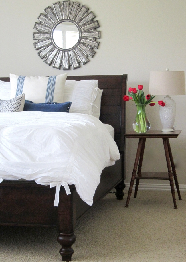 Master bedroom retreat - love the bedding kellyelko.com