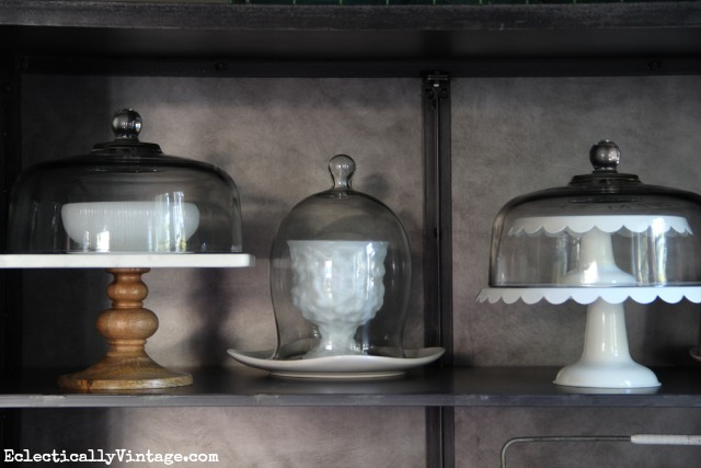 Cake stand and dome collection kellyelko.com