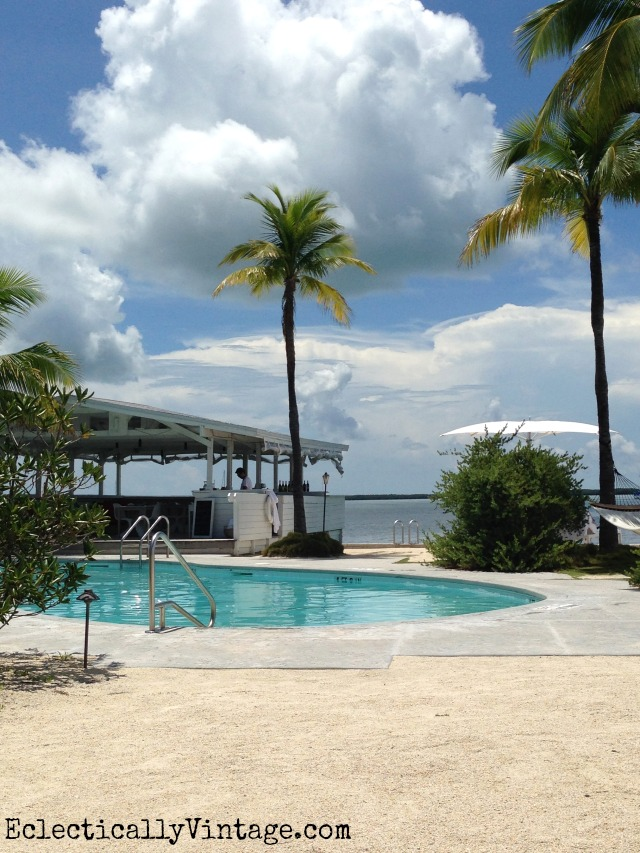 Casa Morada Pool - it's amazing and what a view - in Islamorada Florida Keys kellyelko.com