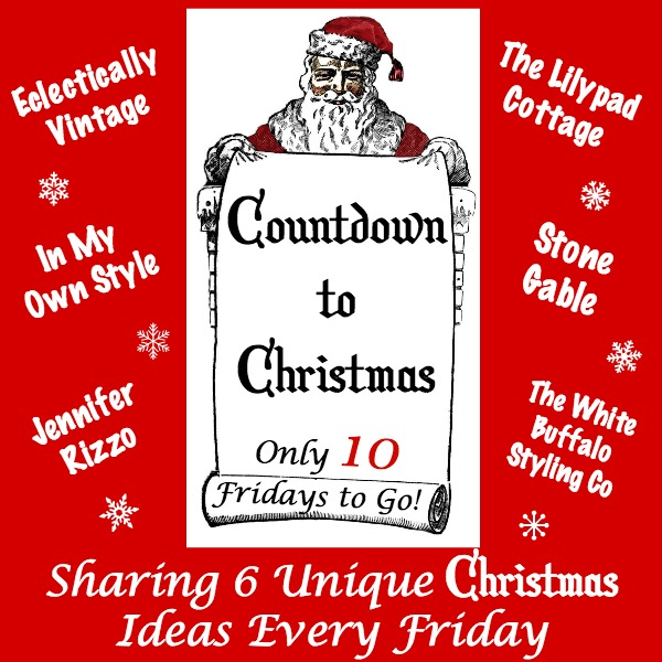 Countdown to Christmas - 6 creative Christmas projects every Friday before Christmas! kellyelko.com