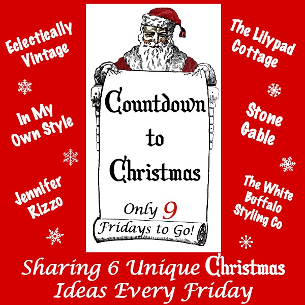Countdown to Christmas - 9 Fridays and lots of creative ideas kellyelko.com